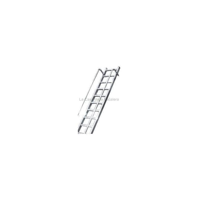 Barandillas de aluminio para escalera industrial profesional