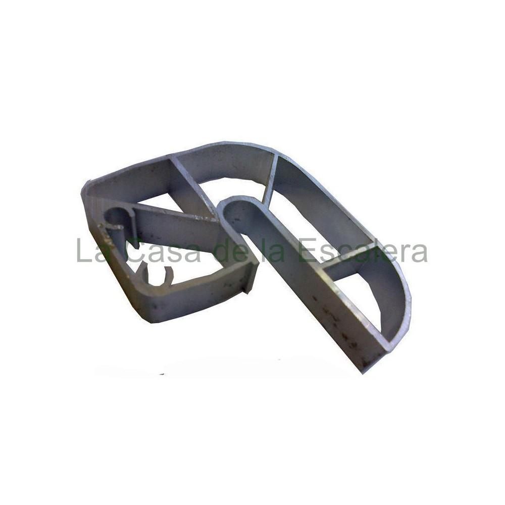 Guia aluminio para escalera bricolaje convertible