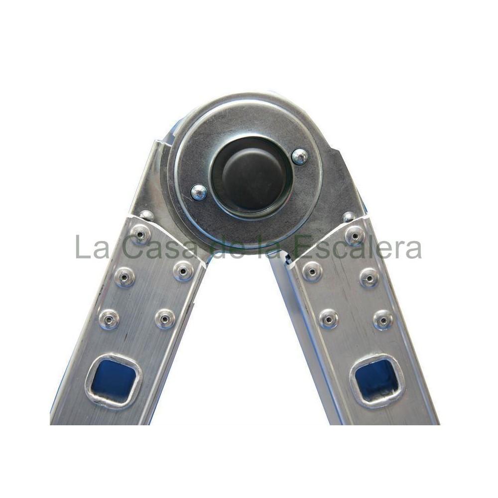 Rotulas acero zincado para escalera telescopica