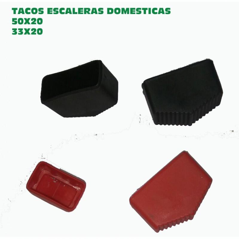 Tacos escaleras domesticas hogar cuatro unidades traseros y delanteros