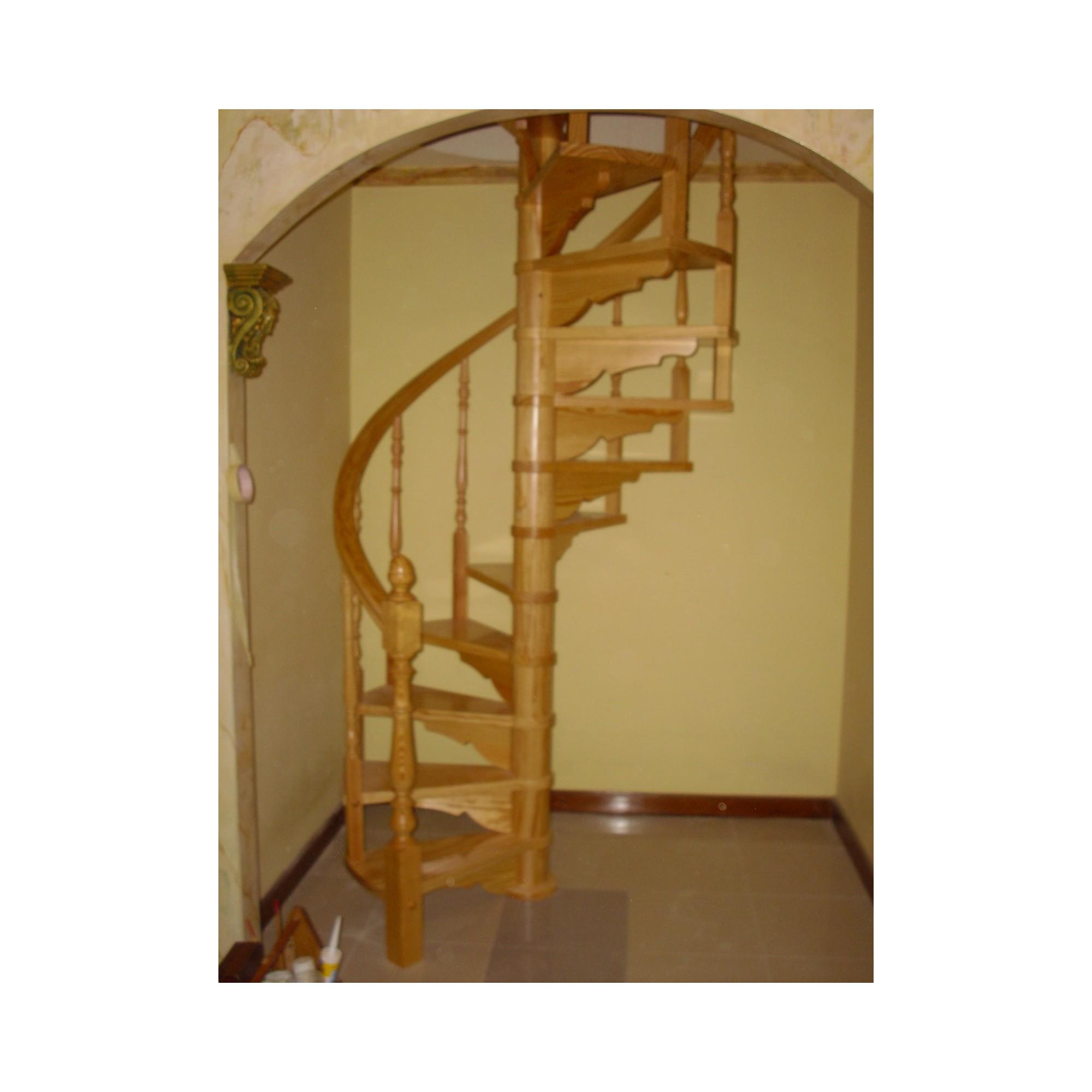 Escalera caracol interior a medida modelo jan - Madera a medida ...