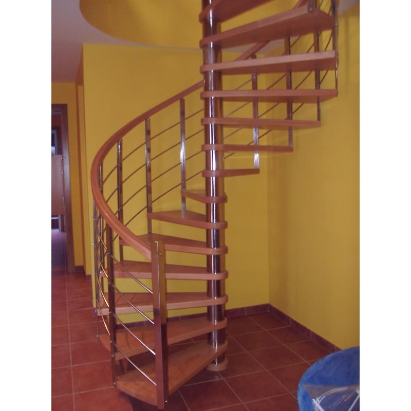 Escaleras 9 la casa de la escalera for Plano escalera madera