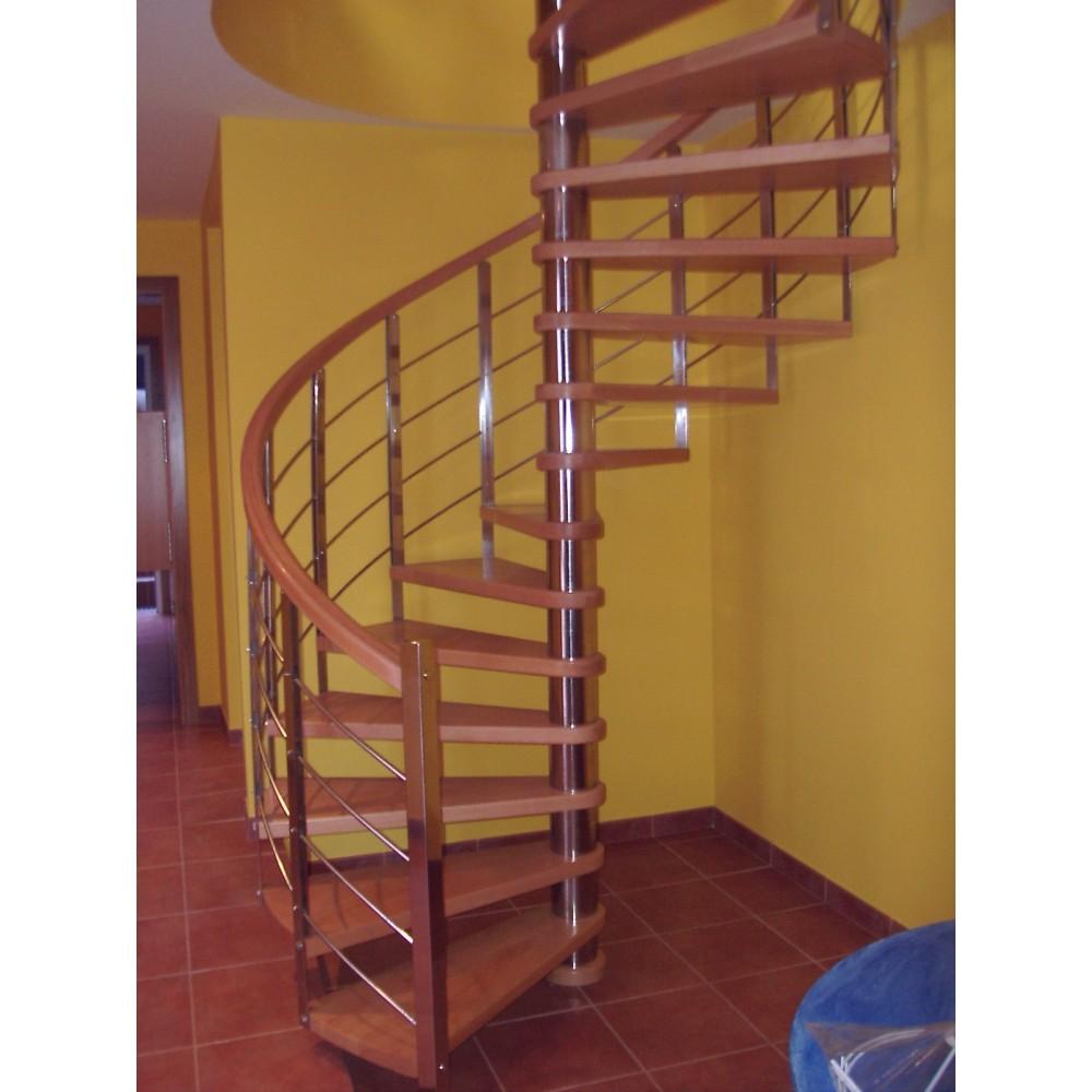Escalera caracol a medida modelo arte for Escalera de medidas