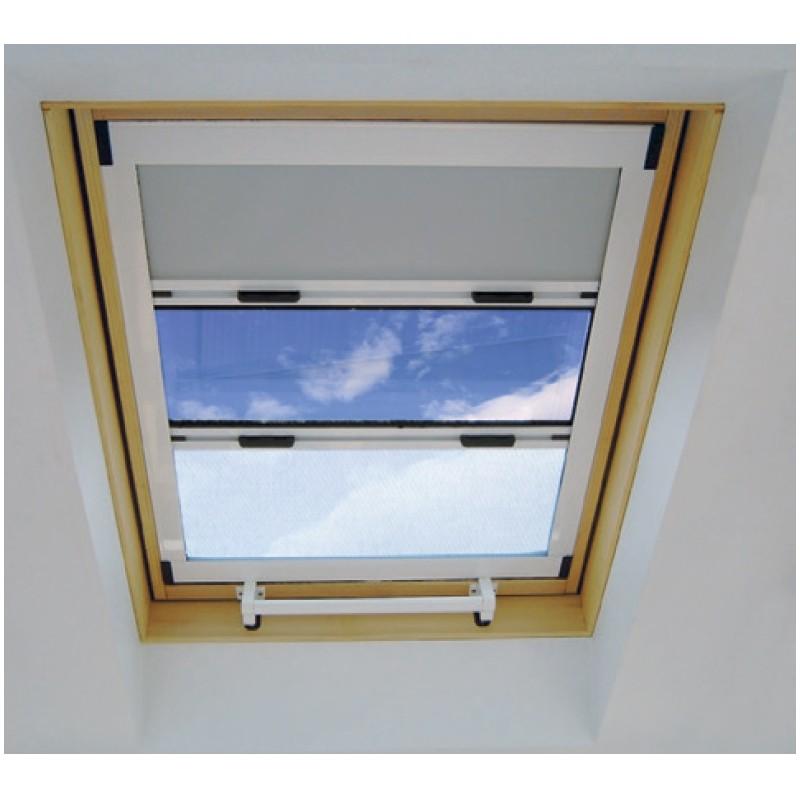 Cortina enrollable combinada ventanas veycla