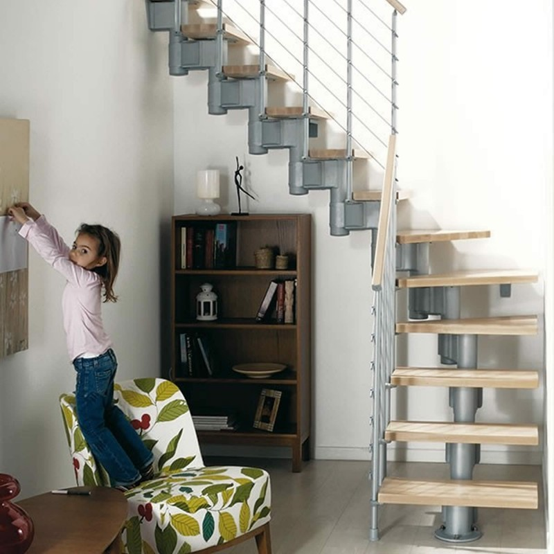 Escalera interior modelo Komoda en kit