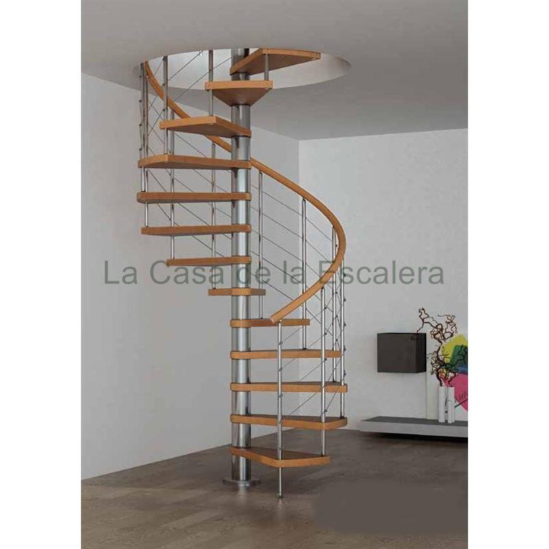 Escaleras de hierro y madera precios de hierro forjado - Precio escalera caracol ...