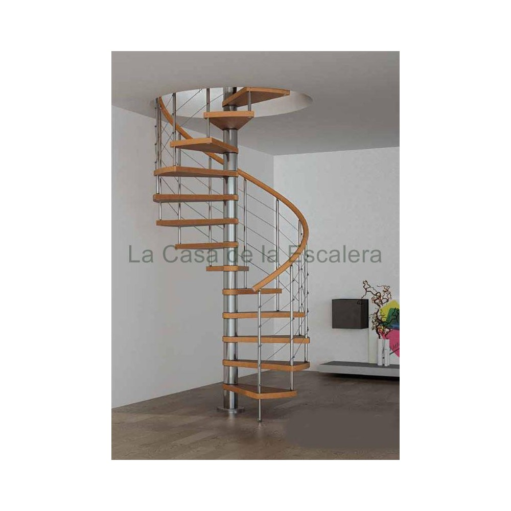 Escaleras redondas barandillas with escaleras redondas for Precio de escaleras en easy