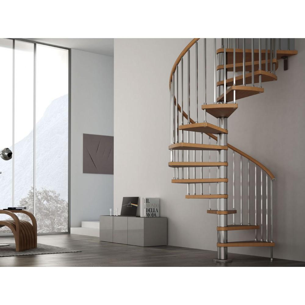 Escalera caracol modular modelo gus 020 for Imagenes escaleras interiores