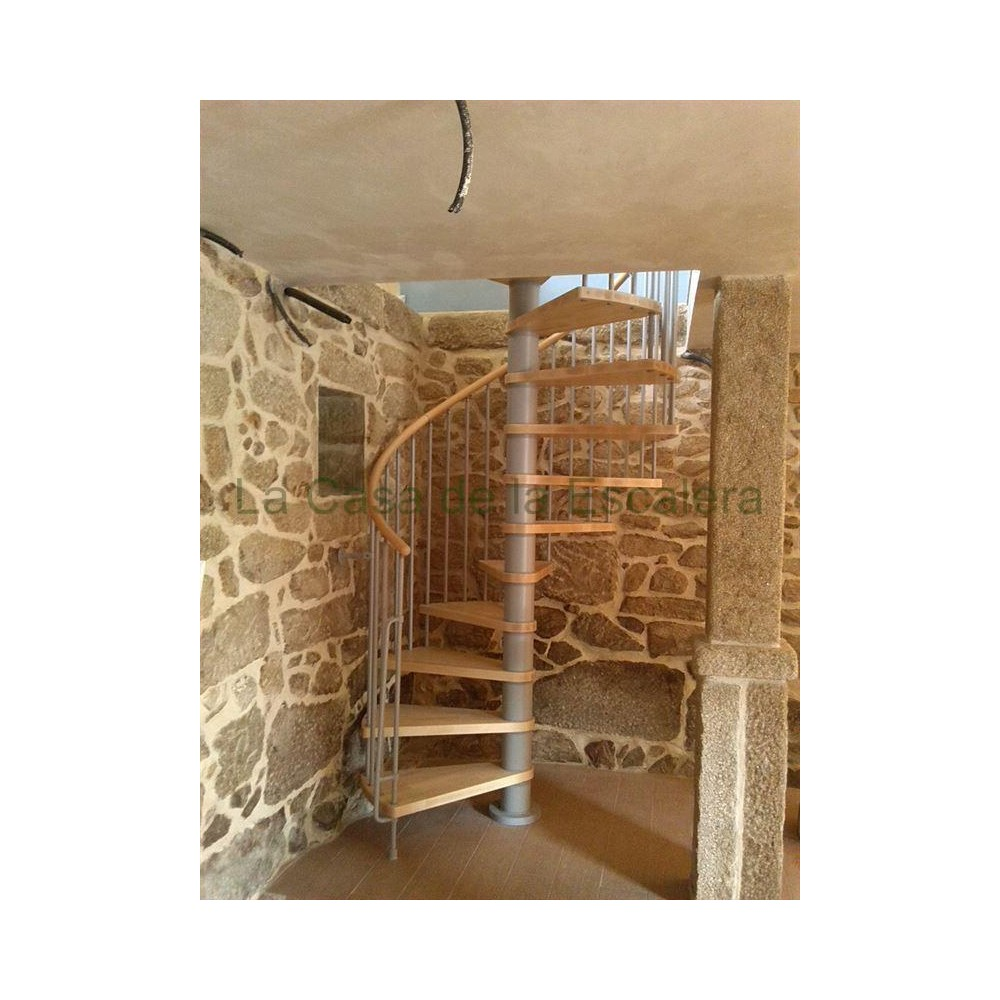 Escalera caracol modelo klan modular for Como hacer una escalera en caracol