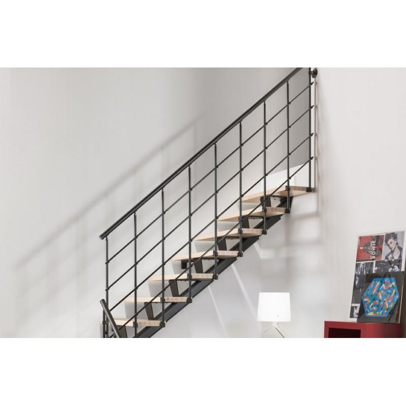 Barandilla adicional lateral escalera modelo ANDE 010B