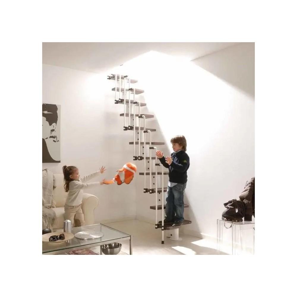 Escalera ahorra espacio modelo karina