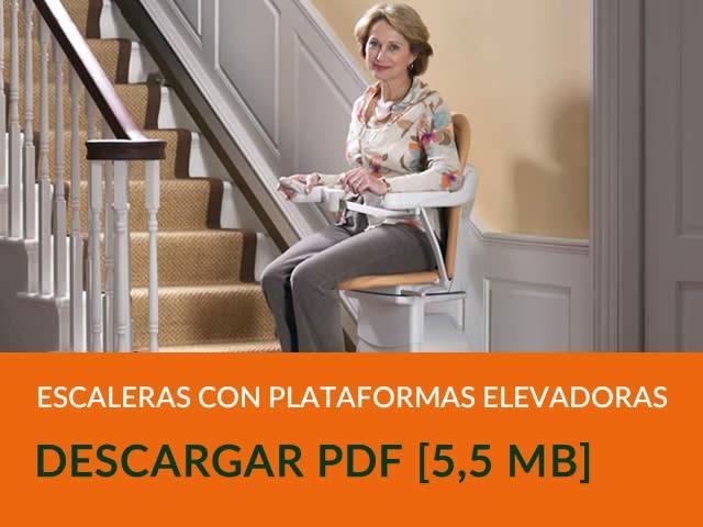 Escaleras Elevadoras con Plataforma